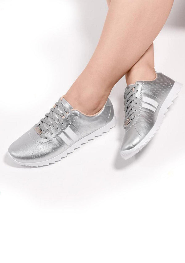 TI-5632-400-19669 Silver Moleca Women Shoes - Pompis Stores