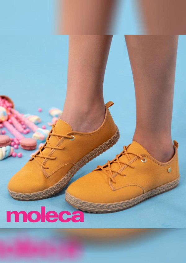 TI5696-105-18923 Mustard Moleca Women Shoes - Pompis Stores