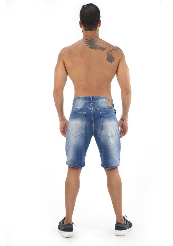1128 M4 Denim Short by Yadier Molina
