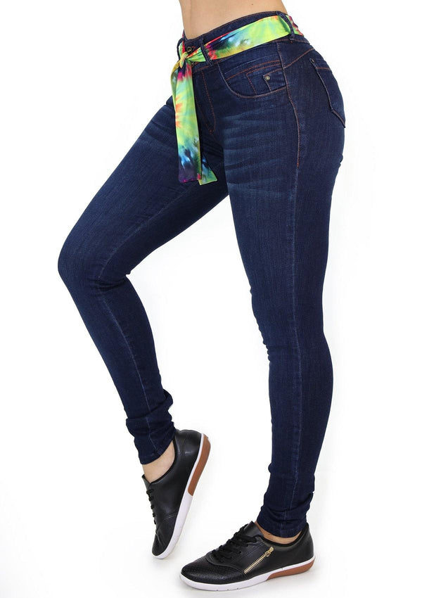 19869 Skinny Jean by Maripily Rivera (Long) - Pompis Stores