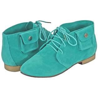 Breckelle's SANDY-42 Button Pocket Pouch Basic Lace Up Flat Desert Boot Bootie Shoe