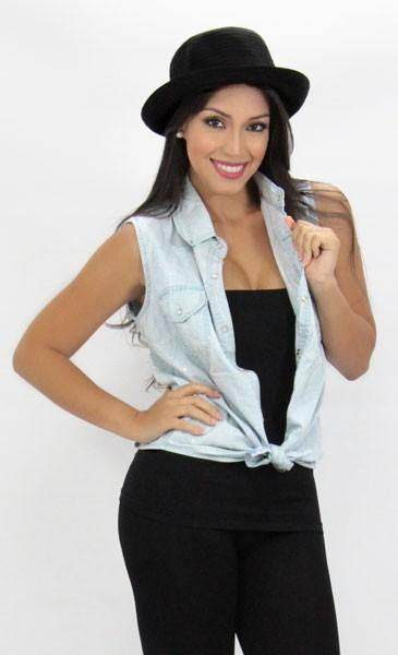 1018 Cami Blouse by Barbara Bermudo