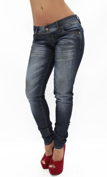 $49.95 1234 AQ Low Rise Skinny Jean - Pompis Stores