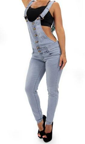 LAST ONE 17328 Maripily Denim Overall