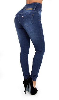 17331 Maripily High Waist Skinny Jean - Pompis Stores