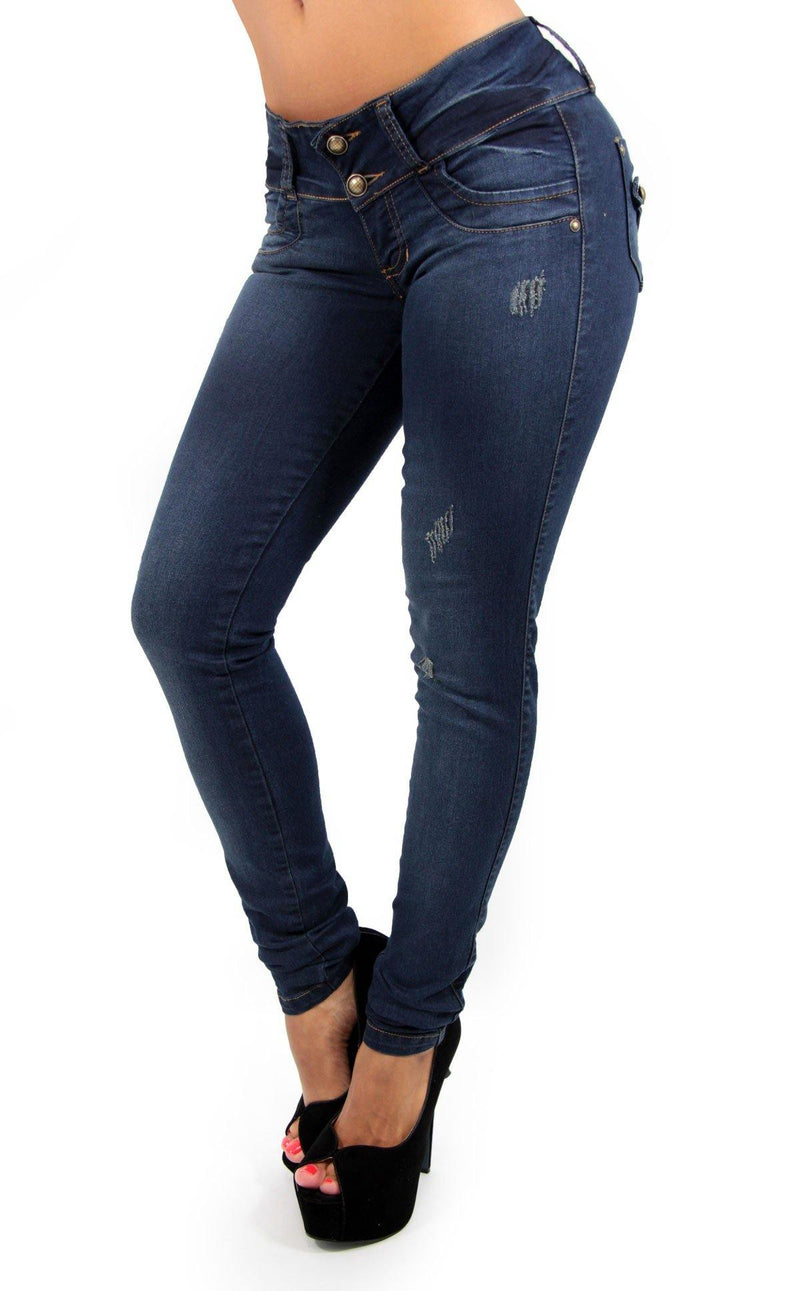 17337 Maripily Skinny Jean - Pompis Stores