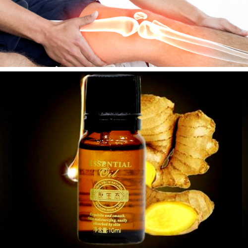 Premium Ginger Oil - Instant Relief for Joint Pain and Swelling