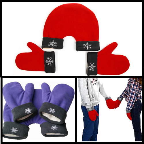 The Original Couples Gloves - Hand Holding Gloves