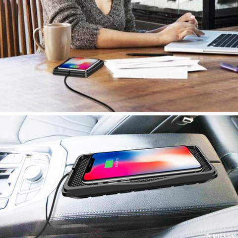 Portable Wireless Charging Pad