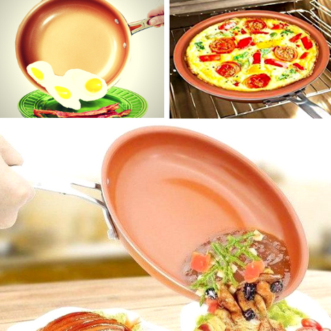 Best Selling Copper Frying Pan