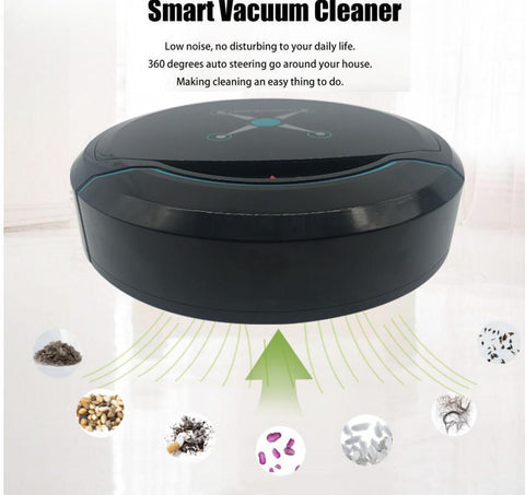 Robotic Pet Hair Vacuum - Robot Vacuum Cleaner