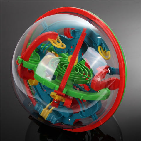 3D Labyrinth Ball Puzzle