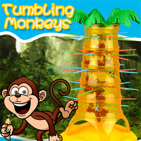 Dump Falling Tumbling Monkeys