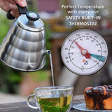 Pour Over Coffee Kettle with Thermometer - Gooseneck Kettle - 40 oz