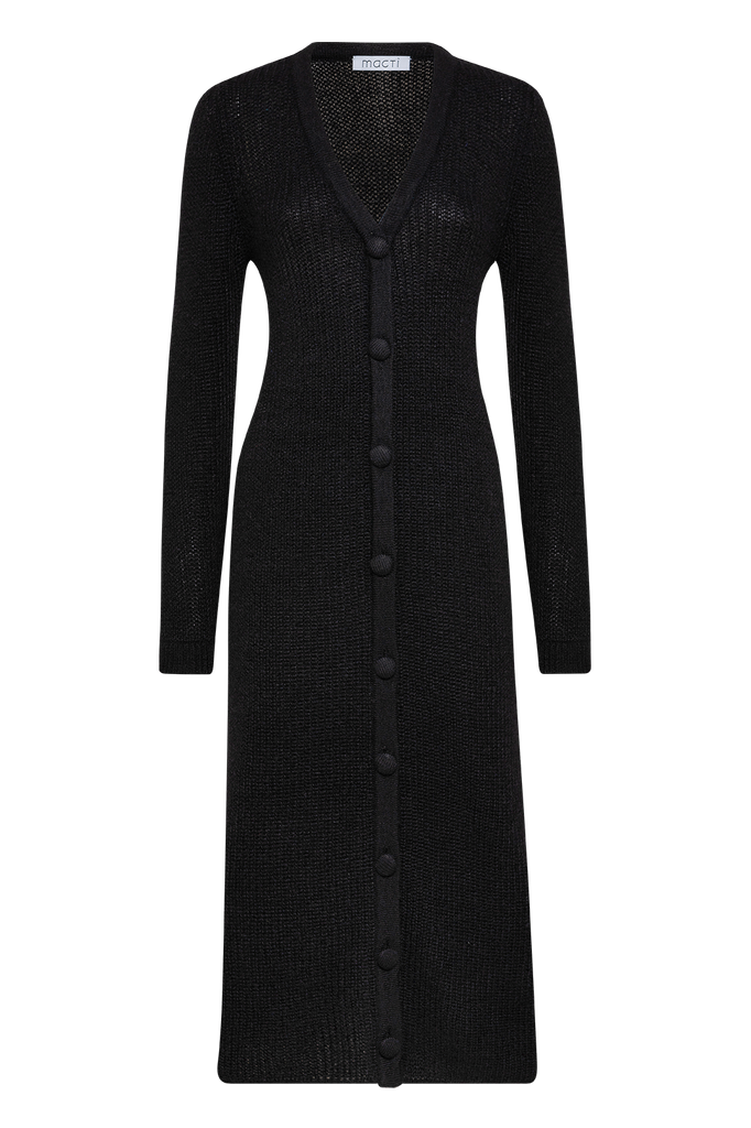 MOHAIR LONG CARDI DRESS