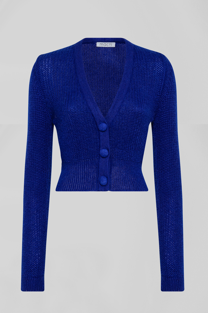 MOHAIR SHORT CARDIGAN
