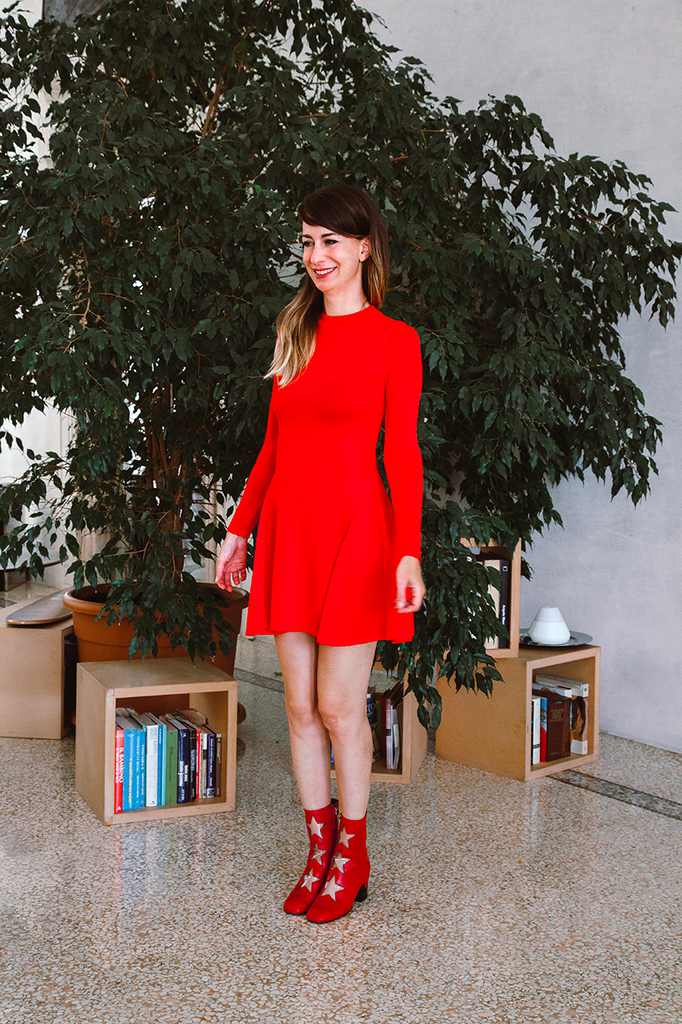NICO LONG SLEEVE DRESS