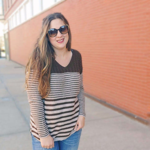 Pullover Striped Sweater