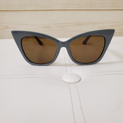 Stately Grey Sunglasses