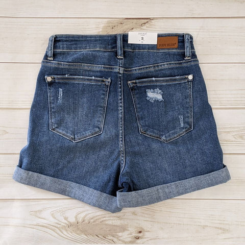 Judy Blue Cuffed Shorts