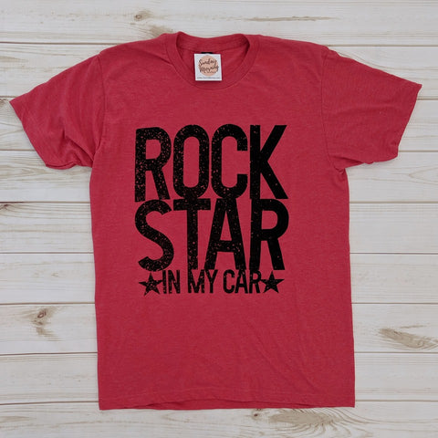 Rock Star in My Car Tee