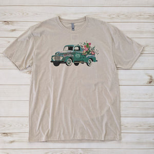 Green Truck Graphic Tee