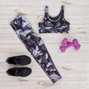 Kaleidoscope Camo Print Leggings