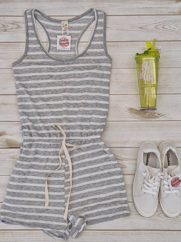 All The Right Stripes Romper