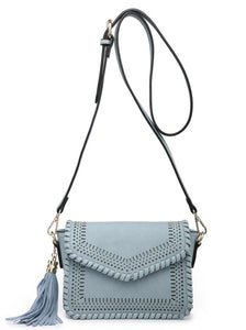 Lazercut Detail Crossbody