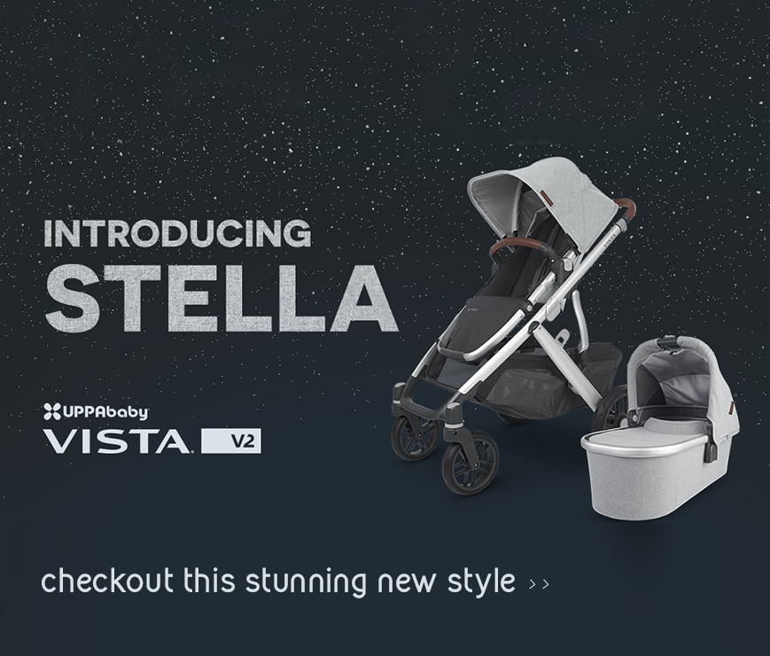 UPPAbaby Vista V2 STELLA- Grey Brushed Melange