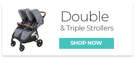 Double and triple Strollers