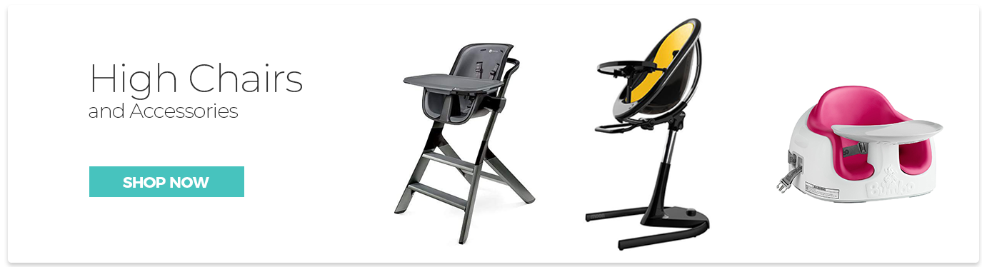 High Chair and Accessories