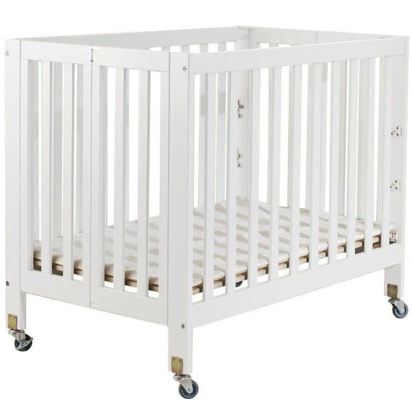 "Big Oshi Sarah (Flat) 3 Level Mini Portable Crib + Free 3"" Mattress - Mega Babies"