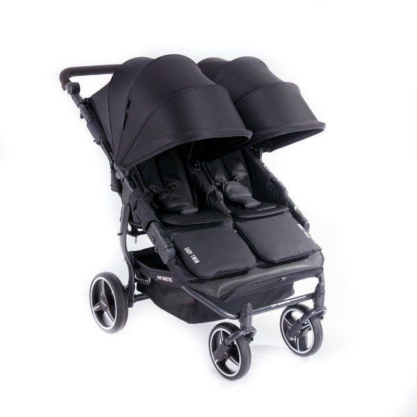Baby Monsters Easy Twin 3S Light Complete Double Stroller