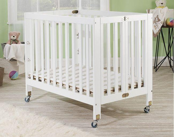 Roxy Mini Portable Crib White
