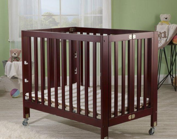 Roxy Mini Portable Crib Cherry