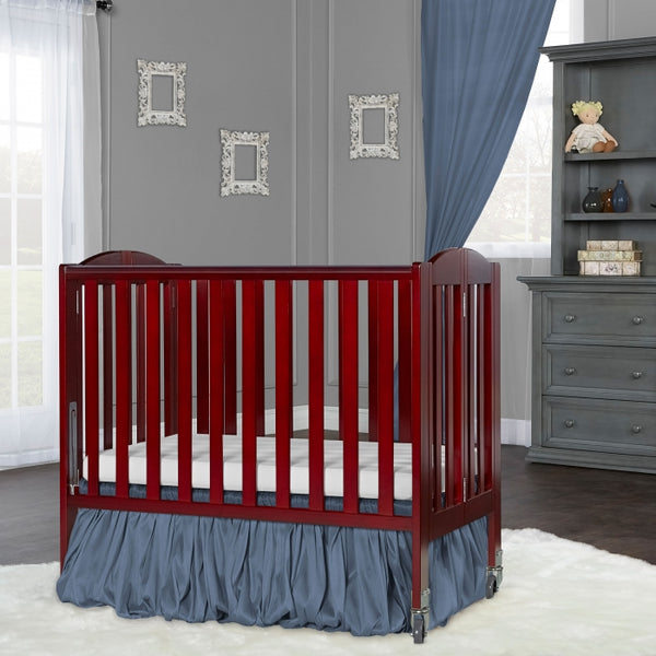 Dream On Me 2 in 1 Folding Portable Crib + Free 3