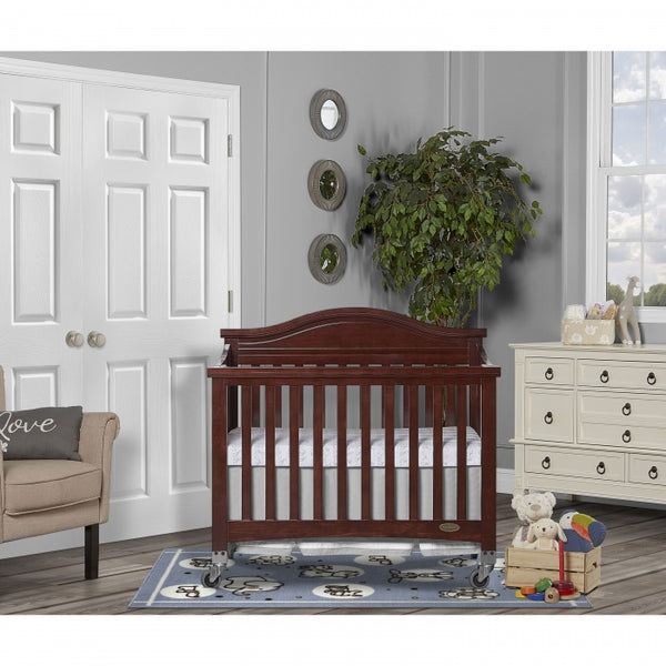 "Dream On Me Venice Folding Portable Crib + Free 3"" Mattress - Mega Babies"