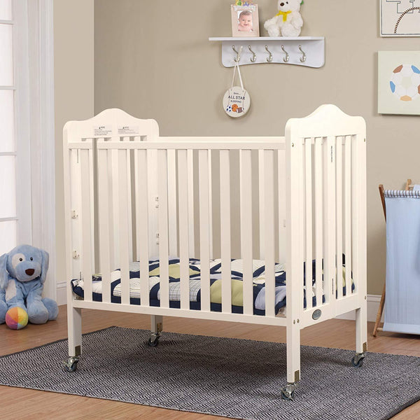 Noa Mini Portable Crib French White
