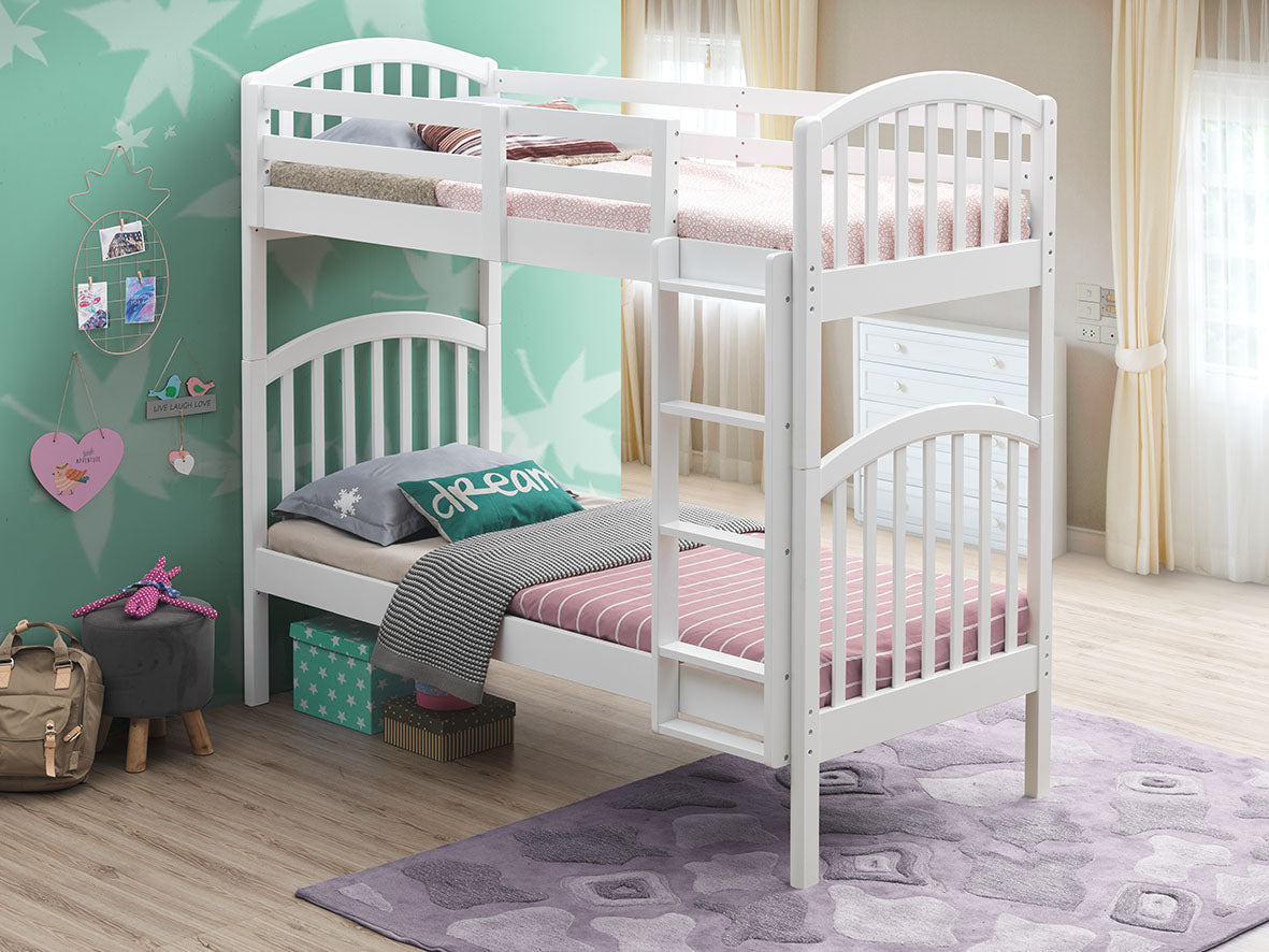 Picture of: Orbelle Convertible Bunk Bed 450 In 33 And 39 Mega Babies