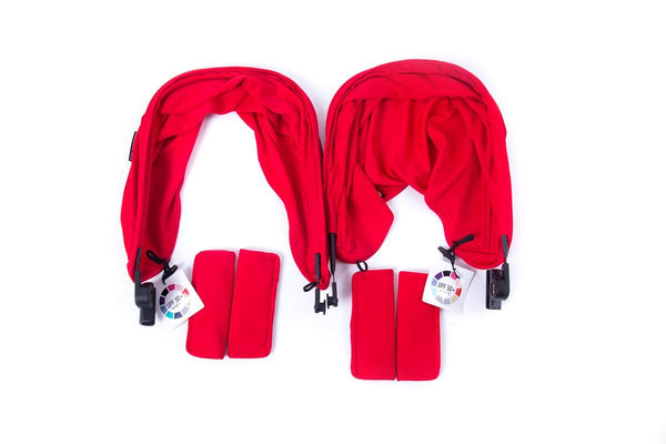 Baby Monsters Easy Twin 3.0S Color Accessories Pack - includes Canopies, Liners, Shoulder Pads