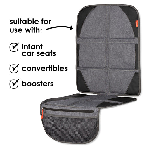 Diono Ultra Mat Car Seat Protector & Heat Shield Deluxe