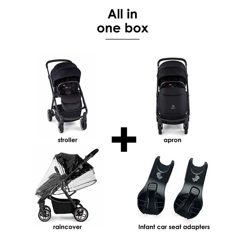 Diono Luxe Excurze Mid-Size Stroller
