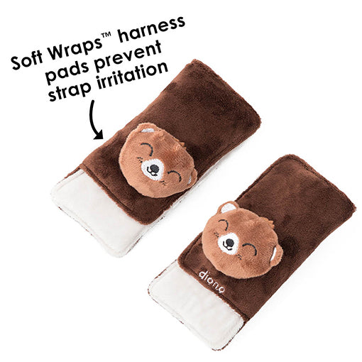 Diono Harness Soft Wraps & Toy