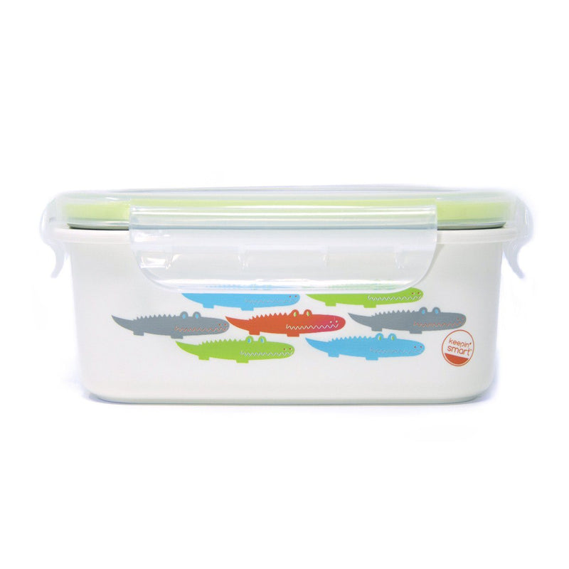 Innobaby Keepin' Fresh Stainless Bento Snack Or Lunch Box With Lid For Kids And Toddlers - 15 oz - Mega Babies