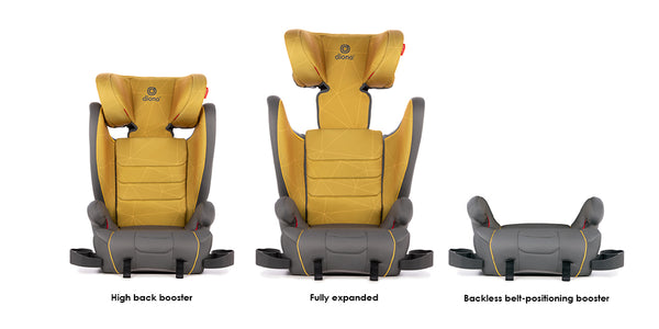 Diono Monterey XT 2 in 1 Expandable Booster Car Seat
