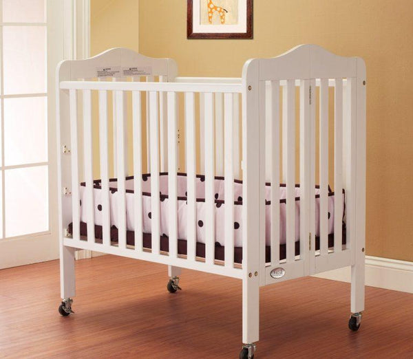 Noa Mini Portable Crib White