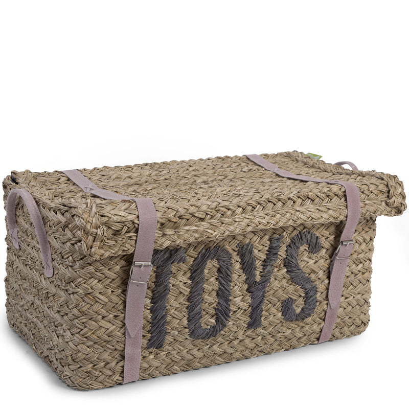 Childhome Set of Two Rattan Storage Baskets  + Straps