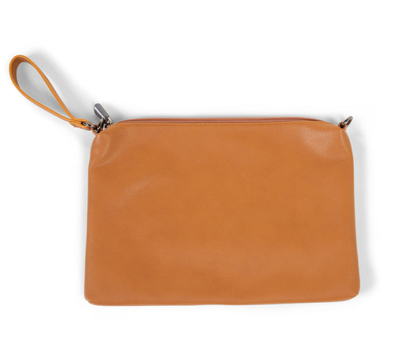 Childhome Mommy Clutch Leather Look Brown