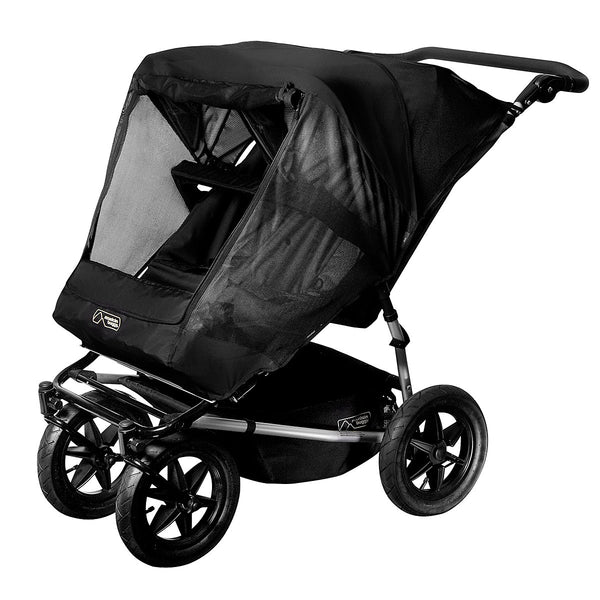 Mountain Buggy Duo Stroller Mesh Cover (Fits Urban Double And Duo)